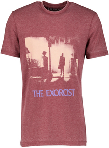 Burgundy 'The Exorcist' T-Shirt