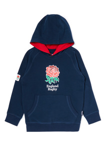 Multicoloured England Rugby Hoodie (3-14 years)