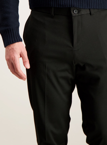 Online Exclusive Black Stretch Skinny Fit Trousers
