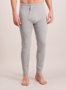Grey Long Thermal Pants
