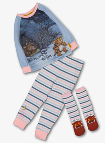 The Gruffalo's Child Multicoloured Pyjamas With Socks (1-6 years)