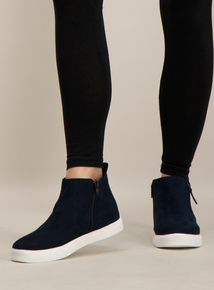 Sole Comfort Navy High Tops