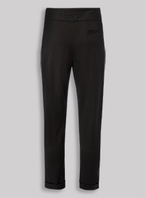Black Girls Fit Trousers With Stretch