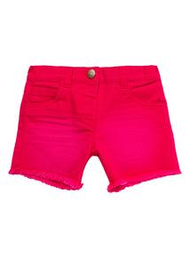Pink Denim Shorts (9 months-5 years)