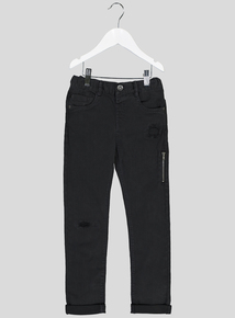 Black Distressed Jeans (9 months-6 years)