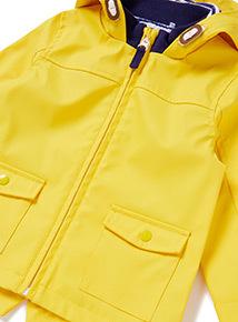Yellow Rain Mac (0-24 months)