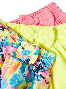3 Pack Multicoloured Shorts (9 months-6 years)