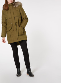 Hooded Cotton Parka