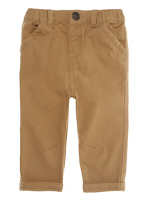 Brown Twill Trousers (0 - 24 months)