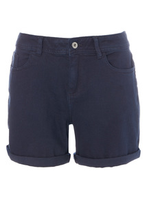 Dark Denim Boy Shorts
