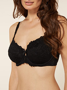 Comfort Lace Full Cup Bra