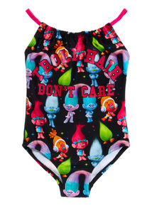 Multicoloured Trolls Swimsuit (4 - 10 years)