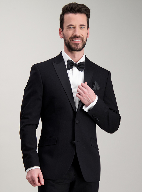 10e4645be1f58 Menswear Online Exclusive Black Slim Fit Tuxedo Dinner Jacket | Tu clothing