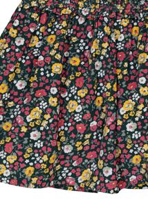 Green Ditsy Print Corduroy Skirt (3-14 years)