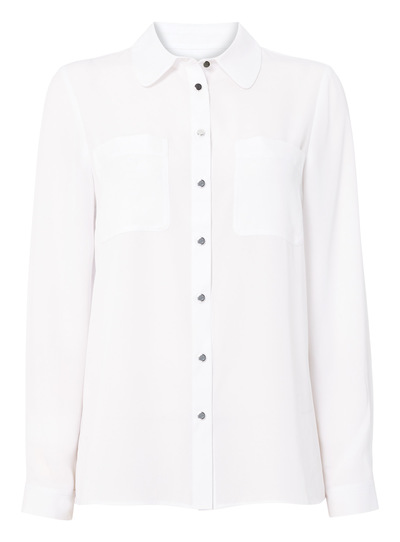 White Simple Shirt