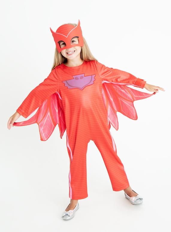 Pj Masks Halloween Costume.Sku Ss18 Pj Masks Owlette Pink