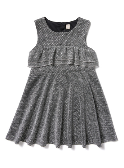 Silver Skater Party Dress (3-14 years)