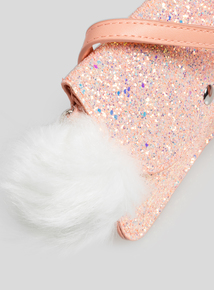 Pink Glitter Party Bag
