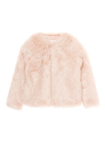 Pink Fur Coat (3-12 years)