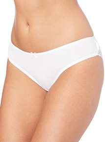 White Brazilian Briefs 5 Pack