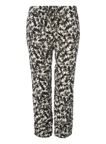 Botanical Drapey Trousers