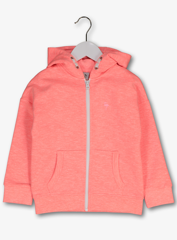new concept pick up wholesale price SKU: SS19 APRIL MAY VALUE HOODY CORAL:Pink