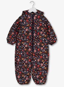 Multicoloured Floral Snowsuit (9 Months - 6 Years)
