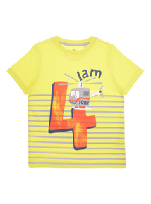 Boys Multicoloured 'I Am 4' T-shirt (9 months-6 years)