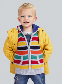 Yellow Canvas Jacket (9 months-6 years)