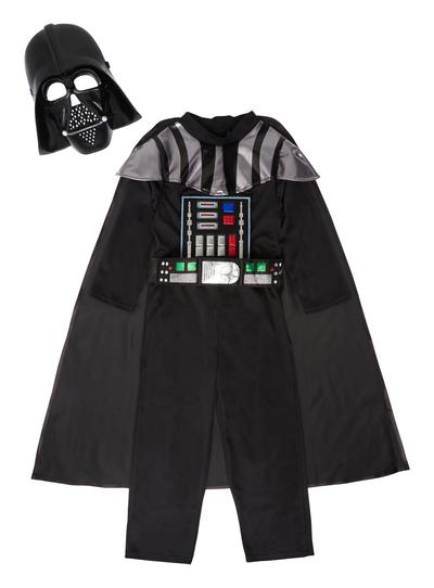 8acb41b59 Fancy Dress Kids Black Darth Vader Costume (3-12 years) | Tu clothing