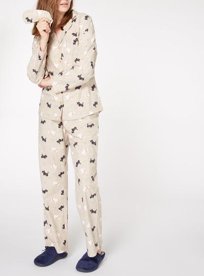 Scotty Dog Traditional Pyjama Gift Set