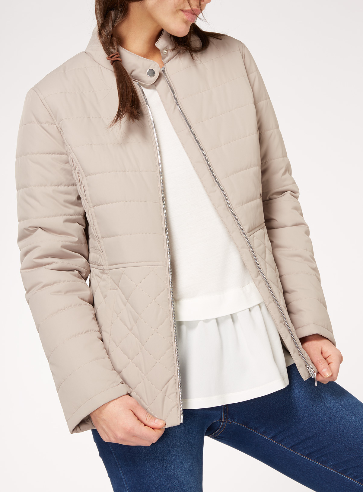 Womens Lightweight Quilted Jacket | Tu clothing : lightweight quilted coat - Adamdwight.com