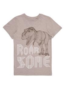 Boys Multicoloured Roarsome Dino Tee (4 - 14 years)