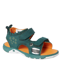 Green Light Up Adventure Sandals