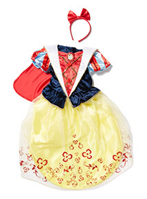Yellow Disney Snow White Costume (1-10 years)