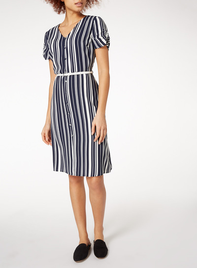 Multicoloured Stripe Dress