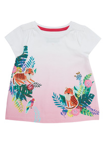 White Ombré Hero Top (9 months - 6 years)