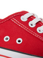 Thumbnail of SKU: SS17 BOYS RED PLAIN LACE UP CANVAS:Red