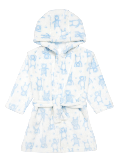 Baby Boys White Bear Dressing Gown 0 24 Months Tu Clothing