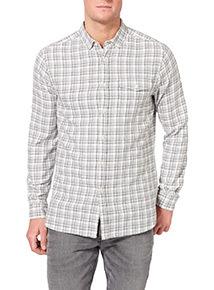 Khaki Check Shirt