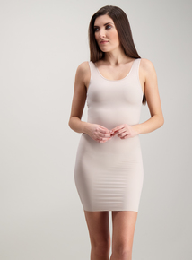 ecda29e418edc Secret Shaping Nude Body Sculpting Slip Dress