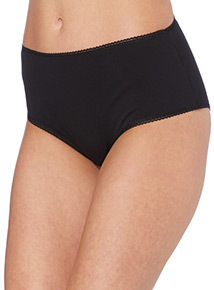 Lace Trim Midi Briefs 5 Pack
