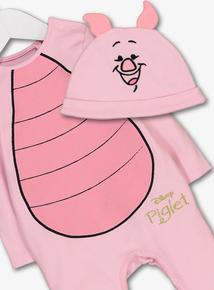 bb85eb32959b Disney Piglet Pink All In One   Hat (Newborn -24 months)