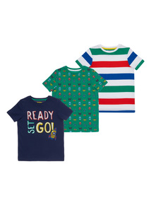 Ready To Go Tees 3 Pack (9 months - 6 years)
