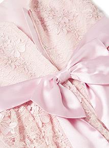 Pink Bridesmaid Dress (3-14 years)