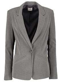 Grey Pinstripe Jacket