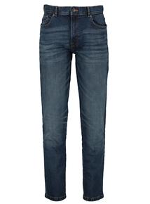 Blue Mid Wash Slim Fit Denim Stretch Jeans