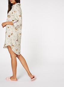 Woodland Print Nightshirt