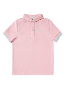 Pink Polo Shirt (3-14 years)