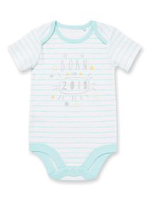 White 'Born in 2018' Bodysuit (Newborn-12 months)